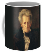 Portrait Of Andrew Jackson Coffee Mug by George Peter Alexander Healy