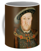 Portrait Of Henry Viii Coffee Mug by English School