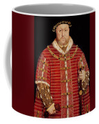 Portrait Of Henry Viii Coffee Mug by Hans Holbein the Younger