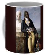 Portrait Of Jean-baptiste Belley Coffee Mug by Anne Louis Girodet de Roucy-Trioson