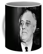 President Franklin Delano Roosevelt Coffee Mug by War Is Hell Store