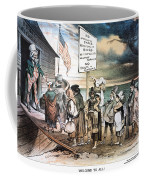 Pro-immigration Cartoon Coffee Mug by Granger