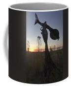 Public Art At Sun Rise Coffee Mug by Sven Brogren