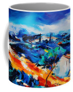 Purple Hills Coffee Mug by Elise Palmigiani