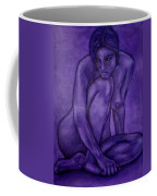 Purple Coffee Mug by Thomas Valentine