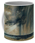 Rainstorm Over The Sea Coffee Mug by John Constable