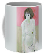 Red Necklace Coffee Mug by Endre Roder