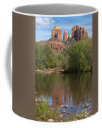 Red Rock Crossing In Sedona Coffee Mug by Sandra Bronstein