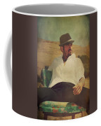 Relax And Stay A While Coffee Mug by Laurie Search