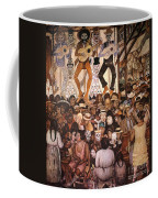 Rivera: Day Of The Dead Coffee Mug by Granger