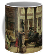 Roman Art Lover Coffee Mug by Sir Lawrence Alma-Tadema