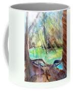 Rope Swing Coffee Mug by Carlin Blahnik
