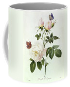 Rosa Bengale The Hymenes Coffee Mug by Pierre Joseph Redoute