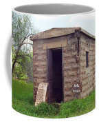 Route 66 - Texola Jail Coffee Mug by Frank Romeo