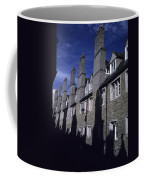 Row Houses Stand Huddled Together Coffee Mug by Taylor S. Kennedy