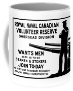 Royal Naval Canadian Volunteer Reserve Coffee Mug by War Is Hell Store