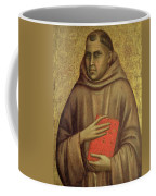 Saint Anthony Abbot Coffee Mug by Giotto di Bondone