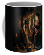Saint Joseph The Carpenter  Coffee Mug by Georges de la Tour