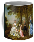 Samuel Richardson Seated With His Family Coffee Mug by Francis Hayman