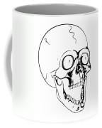 Screaming Skull Coffee Mug by Michal Boubin