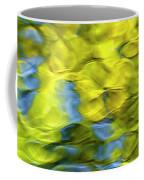 Sea Breeze Mosaic Abstract Art Coffee Mug by Christina Rollo