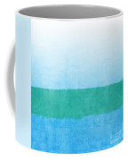 Sea Of Blues Coffee Mug by Linda Woods