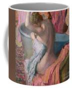 Seated Bather Coffee Mug by Edgar Degas