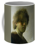 Self Portrait As A Young Man Coffee Mug by Rembrandt