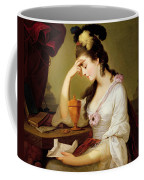 Sigismonda And The Heart Of Guiscardo Coffee Mug by Moses Haughton