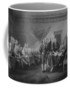 Signing The Declaration Of Independence Coffee Mug by War Is Hell Store