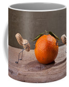 Simple Things - Antagonism Coffee Mug by Nailia Schwarz