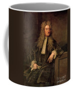 Sir Isaac Newton  Coffee Mug by Sir Godfrey Kneller