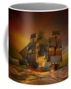 Skirmish Coffee Mug by Carol and Mike Werner