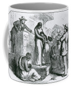 Slave Auction Coffee Mug by Photo Researchers