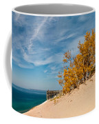 Sleeping Bear Overlook Coffee Mug by Larry Carr