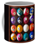 Snooker Balls Coffee Mug by Carlos Caetano