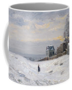 Snow At Montmartre Coffee Mug by Hippolyte Camille Delpy