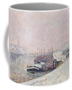 Snow In Rouen Coffee Mug by Jean Baptiste Armand Guillaumin