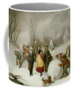 Snowballing   Coffee Mug by Cornelis Kimmel