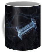 Snowflake Photo - Capped Column Coffee Mug by Alexey Kljatov