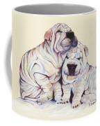 Snuggles  Coffee Mug by Pat Saunders-White