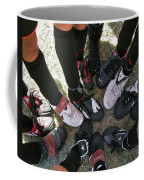 Soccer Feet Coffee Mug by Kelley King