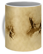 Song Of The Angels In Sepia Coffee Mug by Bill Cannon