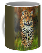 South American Jaguar Coffee Mug by David Stribbling