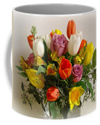 Spring Flowers Coffee Mug by Sandy Keeton