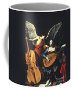 St. Cecilia And The Angel Coffee Mug by Granger