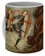 St. Michael And The Angels At War With The Devil Coffee Mug by Domenico Ghirlandaio