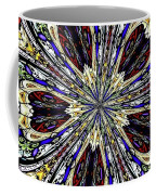 Stained Glass Kaleidoscope 38 Coffee Mug by Rose Santuci-Sofranko