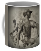 Stealing Third Coffee Mug by Bill Cannon