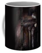 Steampunk - Handling Pressure  Coffee Mug by Mike Savad